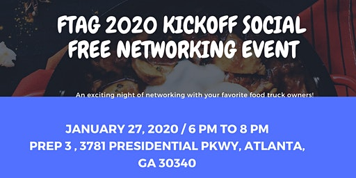 FTAG 2020 Kick Off Celebration & Networking Event