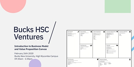 Introduction to Business Model and Value Proposition Canvas tickets