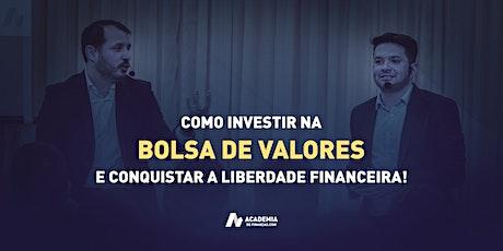Invista na Bolsa e Conquiste a Liberdade Financeira - Jacareí ingressos