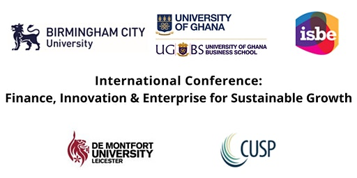 Int Conference: Finance, Innovation & Enterprise for Sustainable Growth