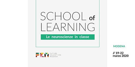 School of Learning. Le neuroscienze in classe biglietti
