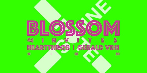 Blossom #4 invites/ Heartthrob & Gerald VDH