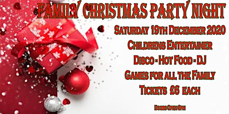 Family Christmas Party tickets