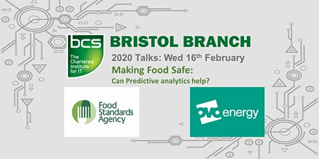 Making Food Safe: Can predictive analytics help? - Bristol Branch tickets