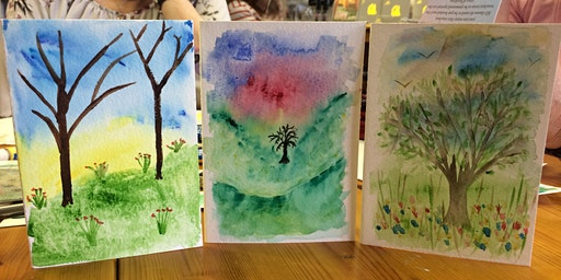 Watercolour Taster Class at The Emporium, Prudhoe