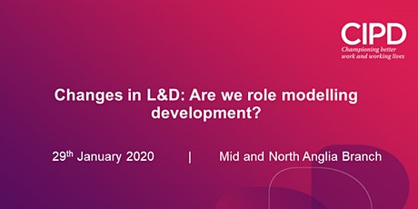 Changes in L&D: Are we role modelling development? tickets