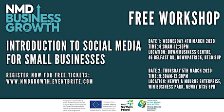 Introduction to Social Media for Businesses - Free Workshop Downpatrick tickets