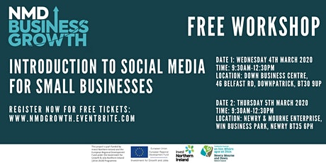 Introduction to Social Media for Small Businesses - Free Workshop in Newry tickets