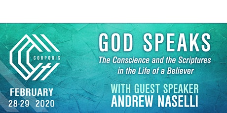CORPORIS 2020: God Speaks: The Conscience and the Scriptures in the Life of a Believer  tickets