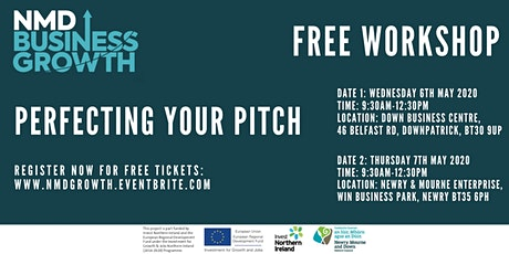 Perfecting your Pitch - Free Workshop in Newry tickets
