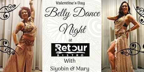 Valentine's Day dinner and Bellydance show tickets