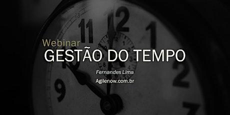 Webinar:Gestão do tempo - 20/02 - GRATUITO ingressos