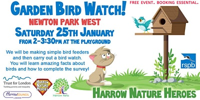 Big Garden Bird Watch - Newton Park West