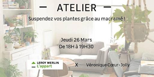 Suspendez vos plantes grâce au macramé !