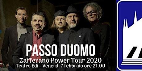 Zafferano Power Tour 2020 biglietti