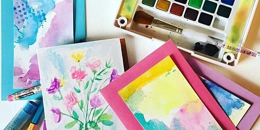 Expressive Watercolour workshop with Nancy Benoy