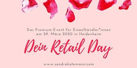 Dein Retail Day - das Premium-Event für Einzelhändler*innen tickets