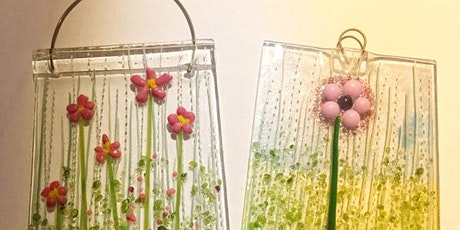 Spring Flower Hanging Workshop - Fused Glass tickets