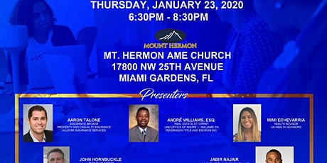 Small Business and Homeowners Workshop - Miami Gardens Chamber tickets