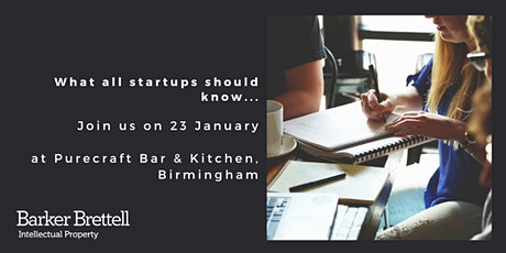 What all startups should know... tickets