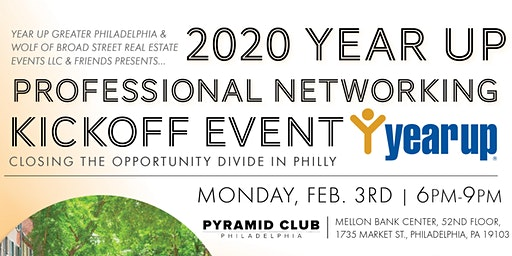 2020 YEAR UP Professional Networking Kickoff Event at Pyramid Club