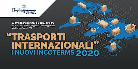 TRASPORTI INTERNAZIONALI - I NUOVI INCOTERMS 2020 biglietti