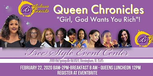 "QUEEN CHRONICLES  BUILDING MY  FINANCIAL QUEENDOM""Girl,God Wants You Rich""!"