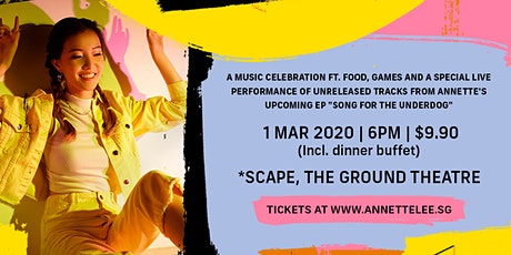 Scape Invasion x Annette Lee Presents: A Party For The Underdog tickets
