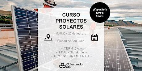 Curso de Proyectos Solares // San Juan  Febrero 2020 entradas