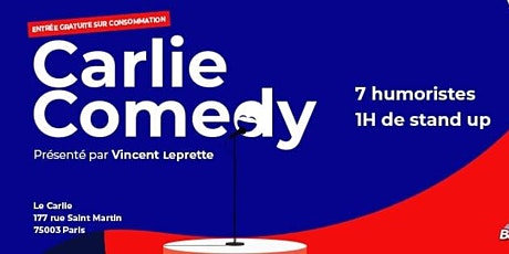 Carlie Comedy / LUNDI 20 janvier 20H billets