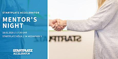 STARTPLATZ Accelerator Mentor's Night Tickets