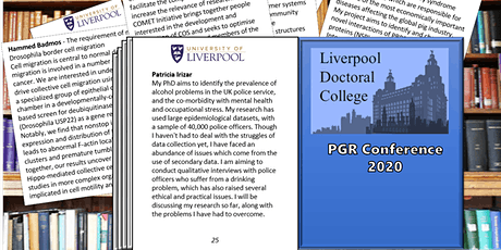 University of Liverpool PGR Conference tickets