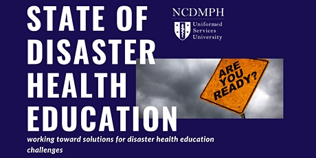 State of Disaster Health Education tickets
