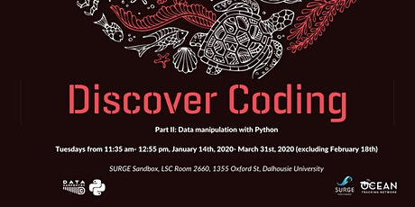 Discover Coding - Python  tickets