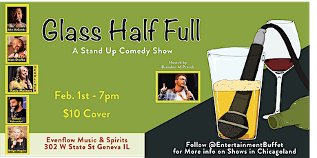 Glass Half Full Comedy Show tickets