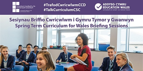 Sesiynau Briffio Cwricwlwm i Gymru i Arweinwyr Canol tickets