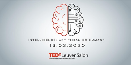 TEDxLeuvenSalon: Intelligence - Artificial or Human tickets