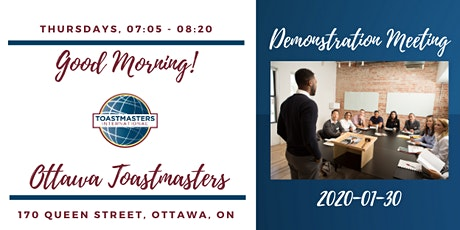 Leadership and Communication Skills Development - Toastmasters! tickets