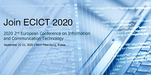 Conference on Information and Communication Technology (ECICT 2020)