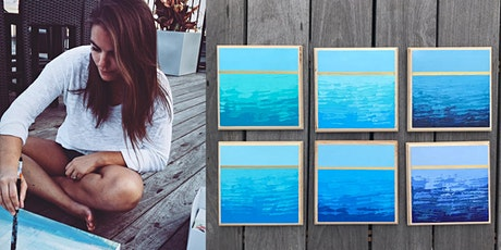 Paint Night at For Now with artist Ashley Provencher tickets