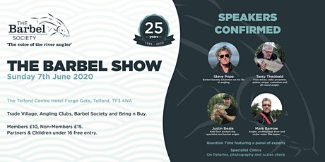 The Barbel Show 2020 tickets