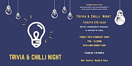 Trivia & Chilli Night tickets