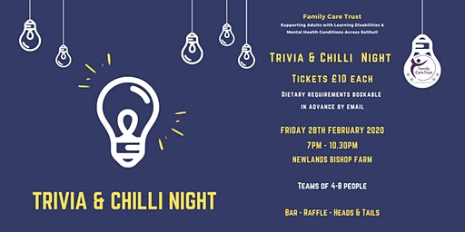 Trivia & Chilli Night