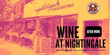 Wine After Work at Nightingale: Syrah! tickets