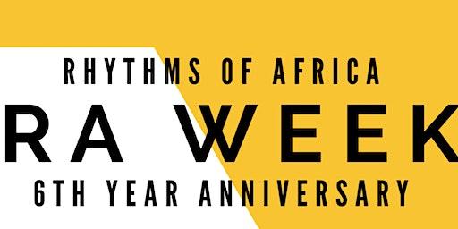 RA Week hosted by Rhythms of Africa