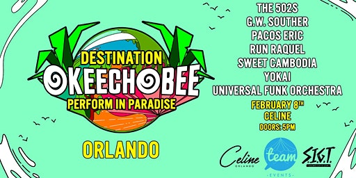 Universal Funk Orchestra Battle for Okeechobee Music Festival