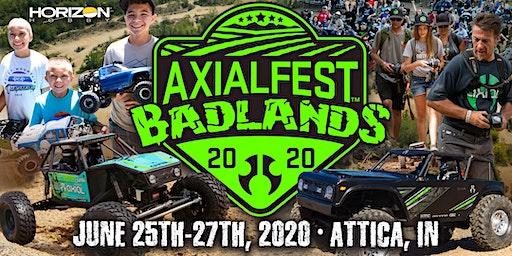 AXIALFEST BADLANDS 2020