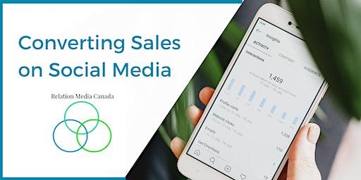 Converting Sales on Social Media