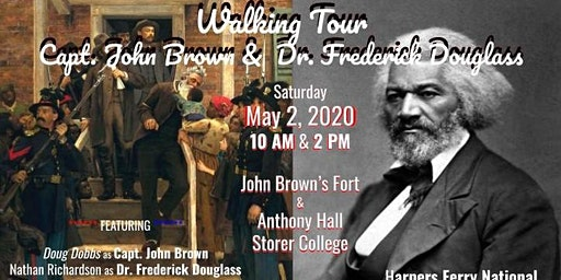 Harpers Ferry Walking Tour: Capt. John Brown & Dr. Frederick Douglass