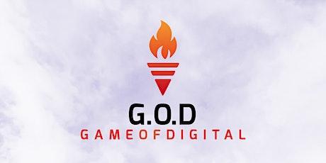 G.O.D - Game of Digital biglietti